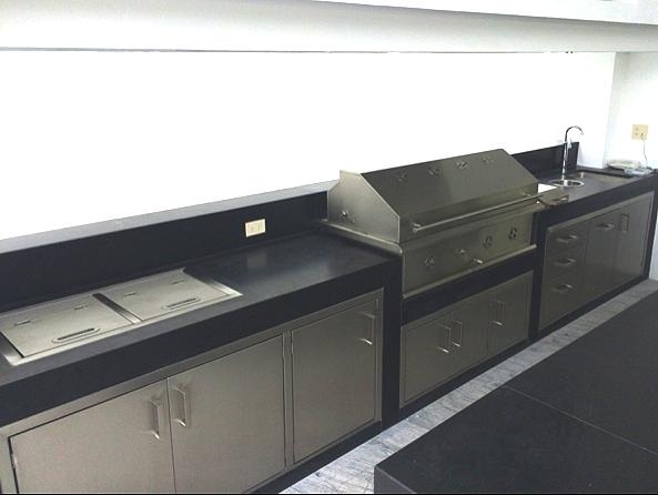 Asadores para empotrar en carbon 4 mlinox - Plancha de cocina para empotrar ...